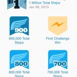 1 million steps